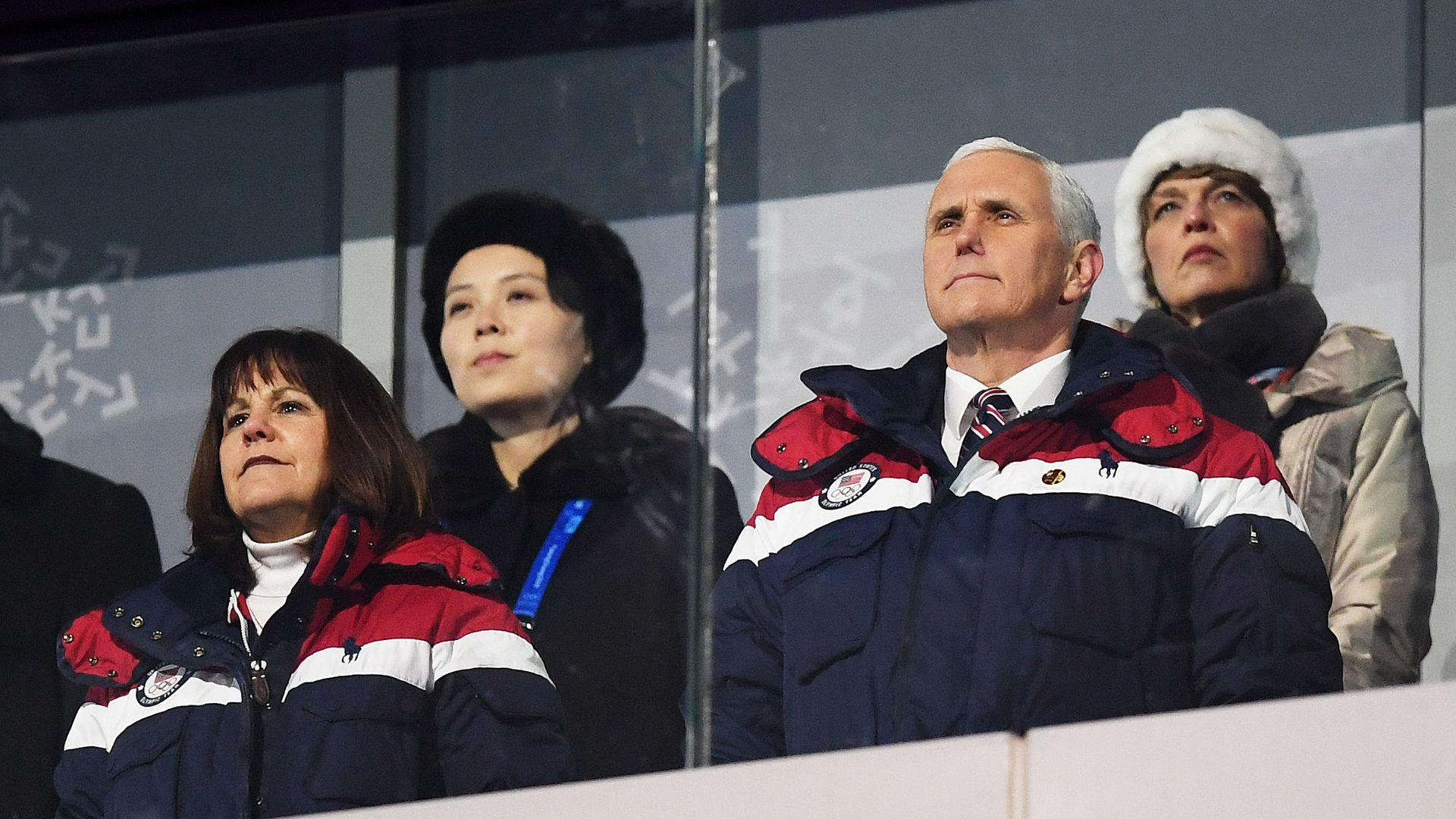 Mike Pence at the Winter Olympics