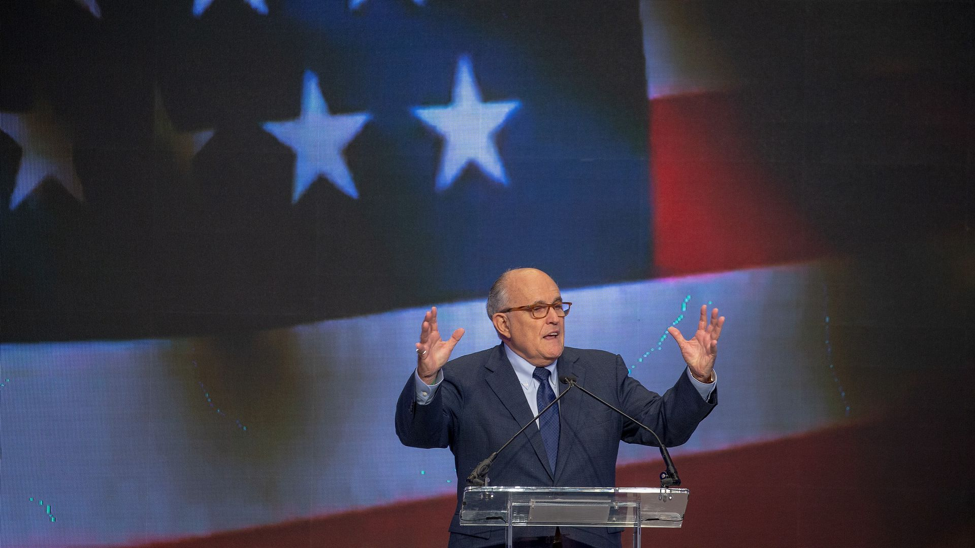 President Trump attorney Rudy Giuliani. Photo: Tasos Katopodis/Getty Images