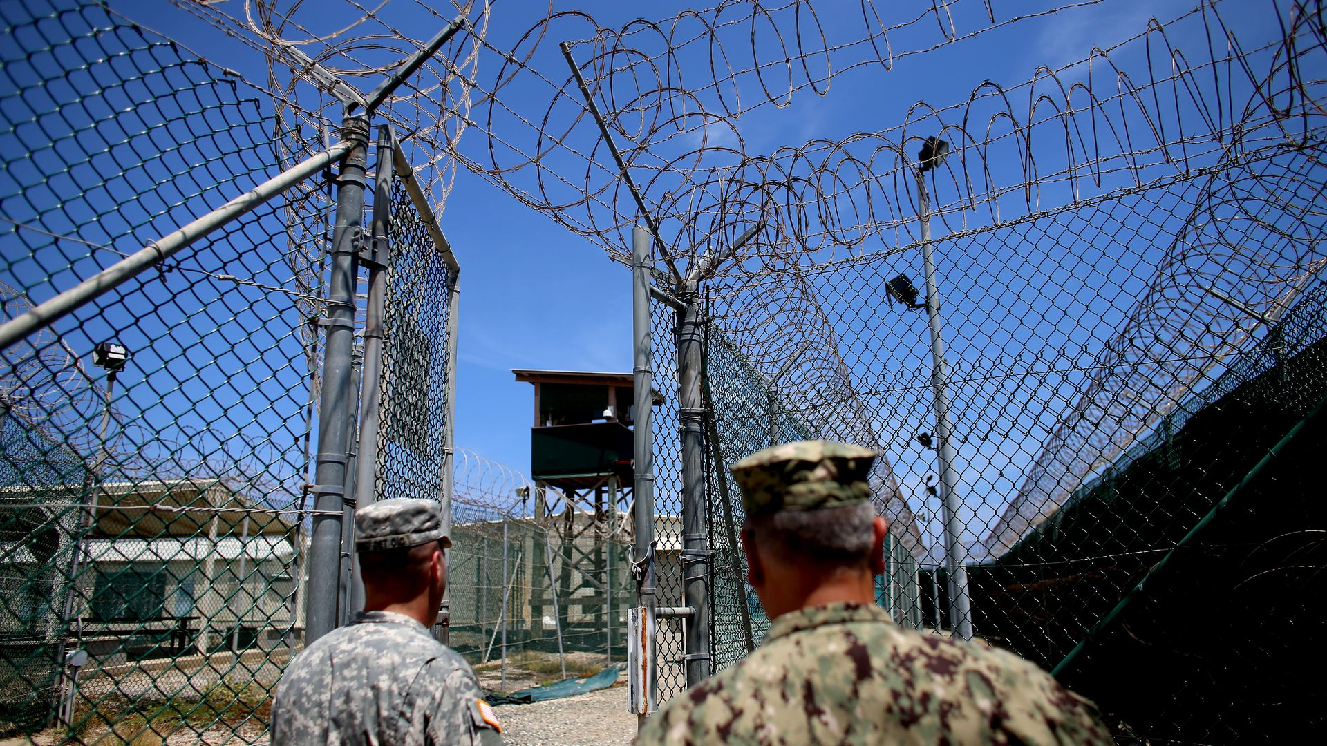 Camp Delta, part of the U.S. military prison for 'enemy combatants' on June 26, 2013 in Guantanamo Bay, Cuba.