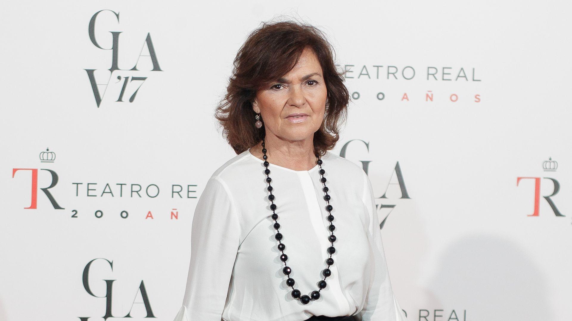 Carmen Calvo, Spain's new deputy prime minister