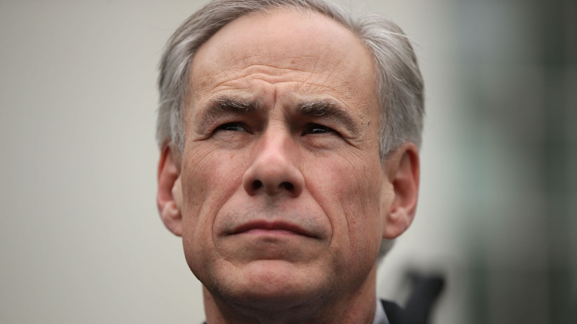 Texas Governor Greg Abbott participates in a news briefing outside the West Wing March 24, 2017 at the White House in Washington, DC.