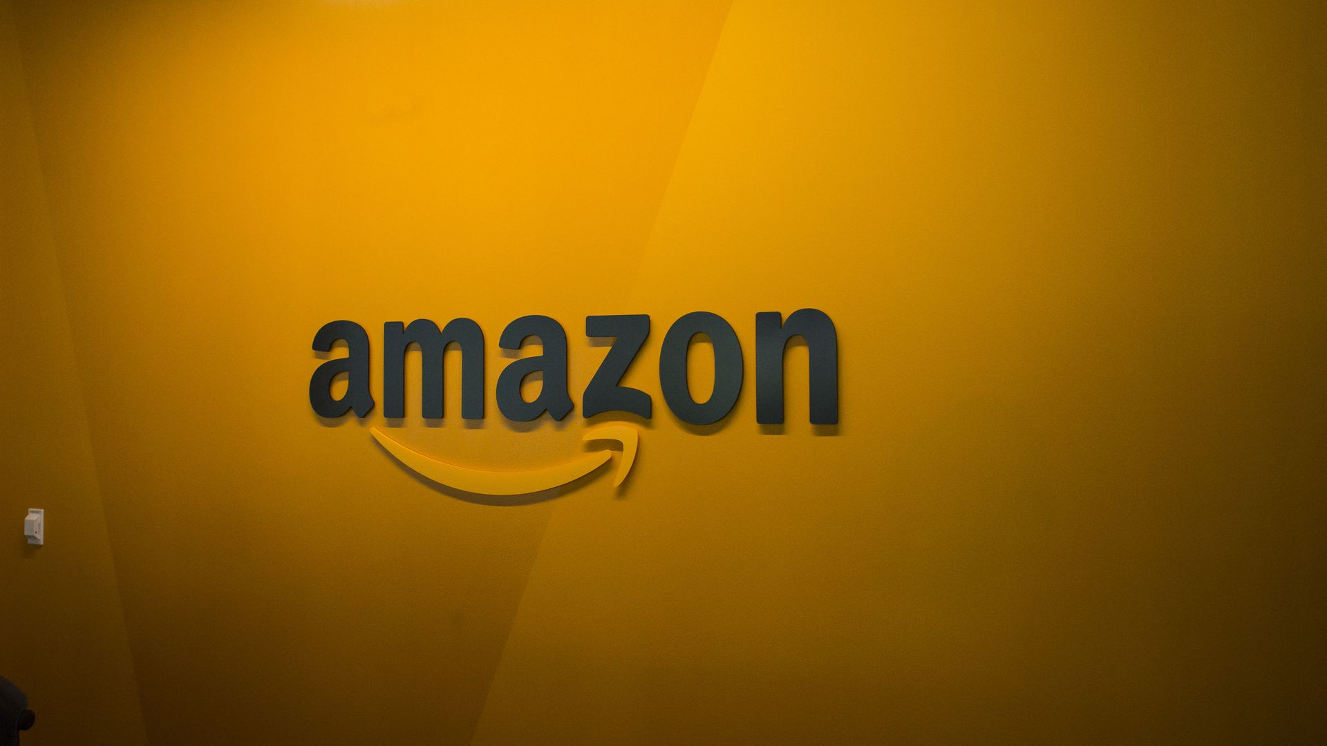 Photo of the Amazon.com logo.