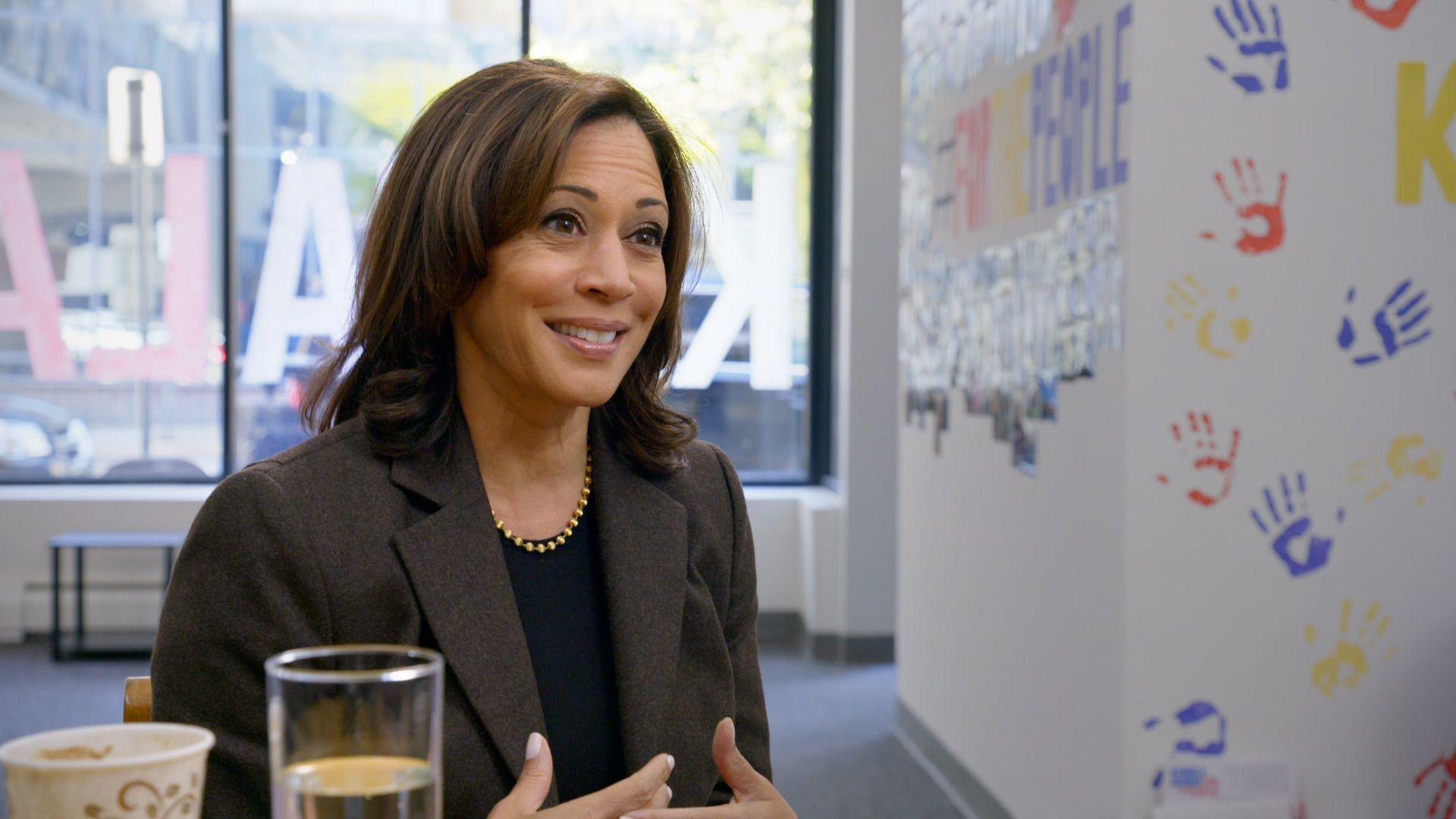2020 presidential candidate Sen. Kamala Harris.