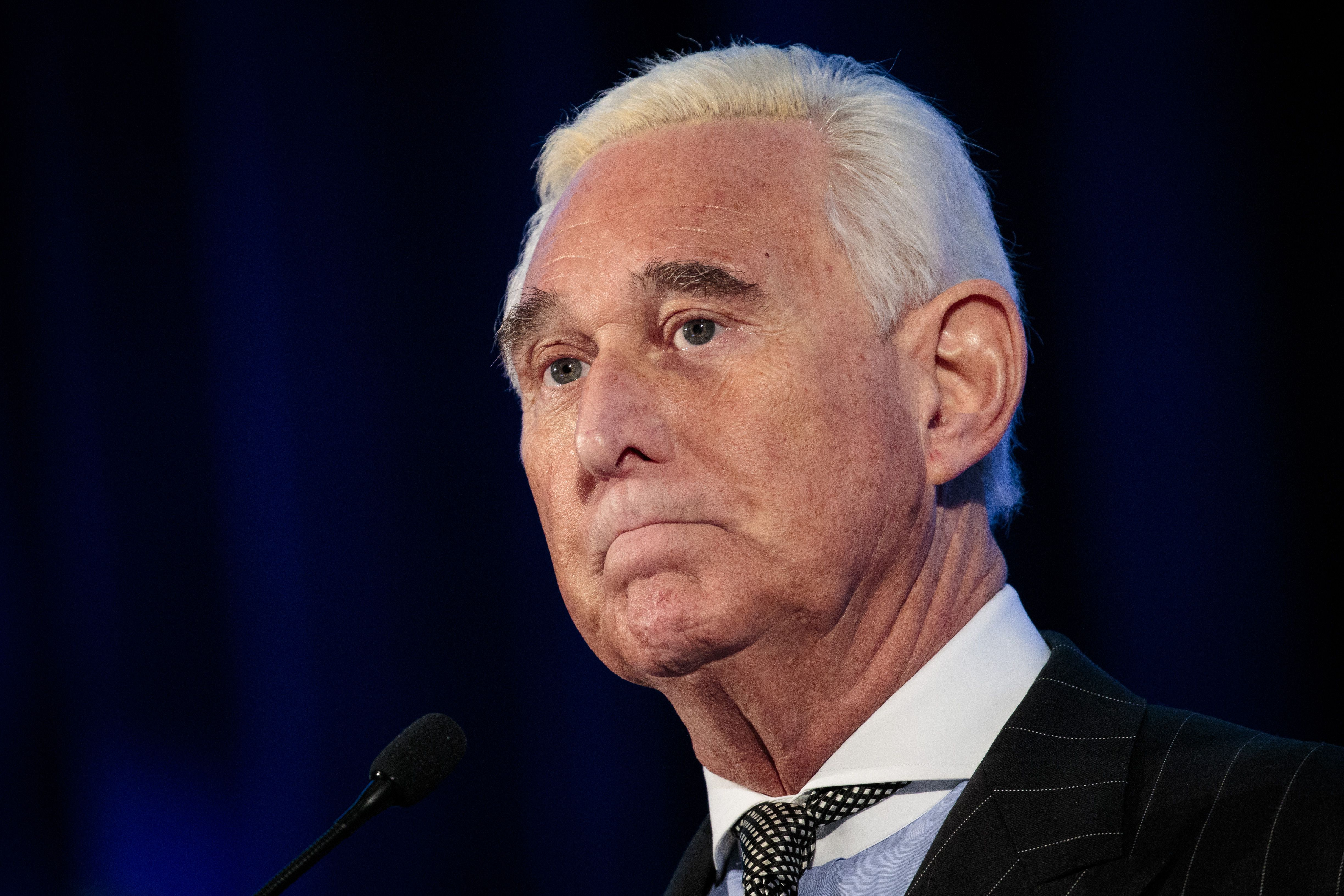 Nearly half of Republicans support pardoning Roger Stone - Axios