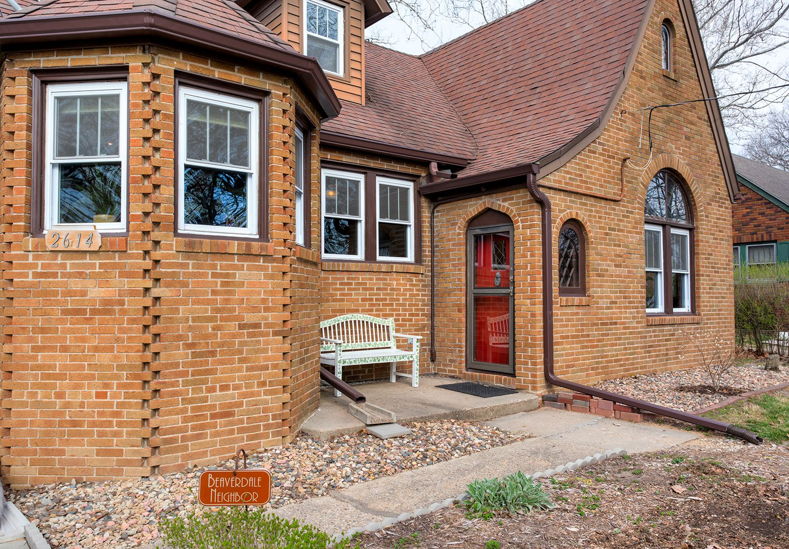 A Beaverdale cottage brick home