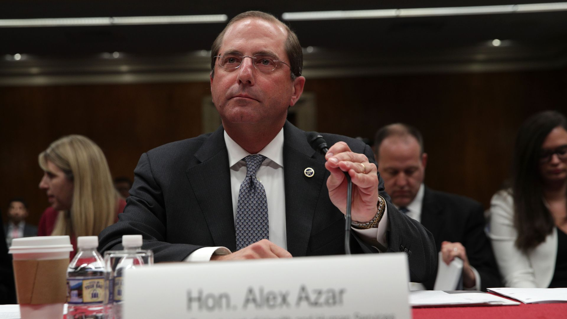 HHS Sec Alex Azar