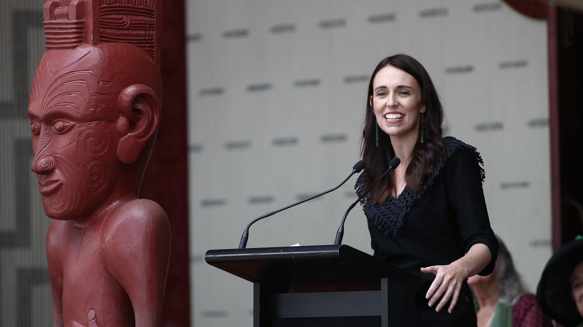 New Zealand Prime Minister Jacinda Ardern supports student climate change protesters.