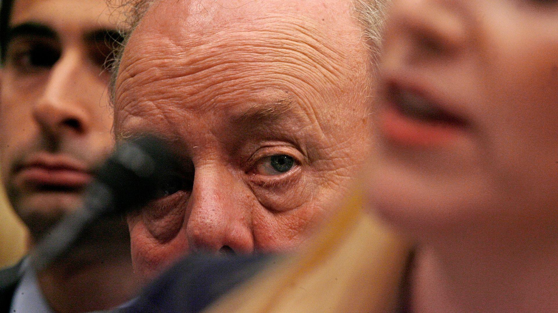 John Dowd's eye