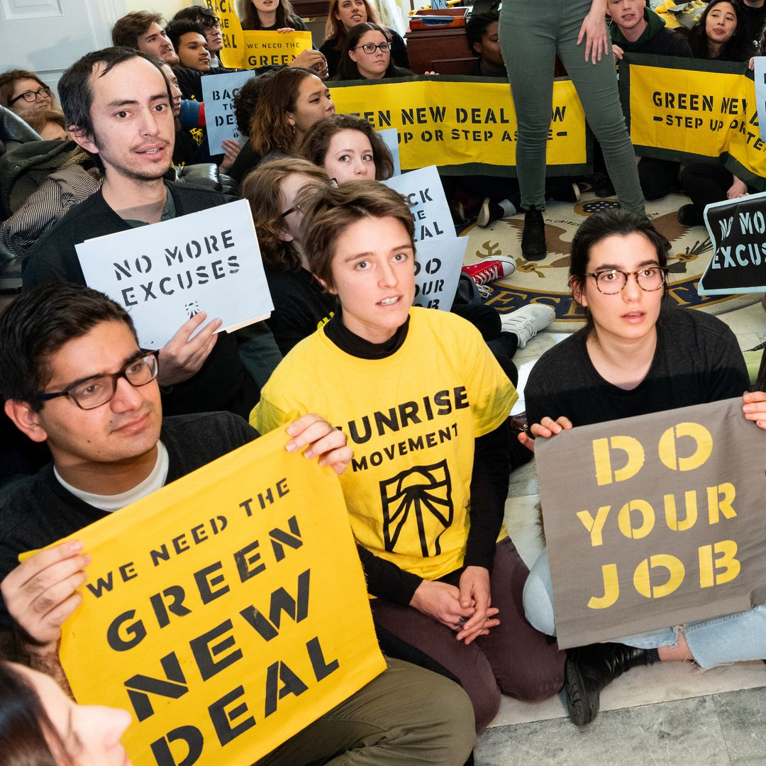 What we re reading  The youth movement behind the Green New Deal - A youth  movement that was founded less than two years ago and that stages most of  its ... a7e6b1241a