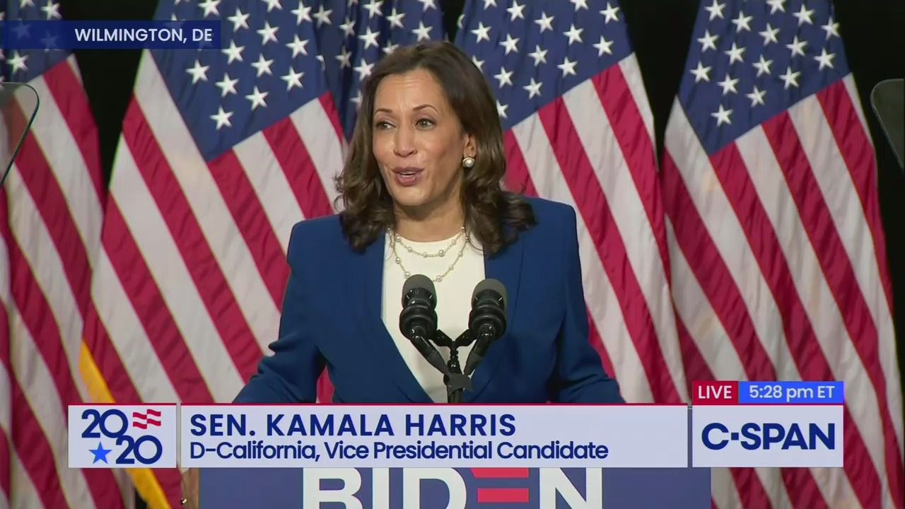 Kamala Harris previews dual role in debut speech: Attacking Trump and humanizing Biden thumbnail