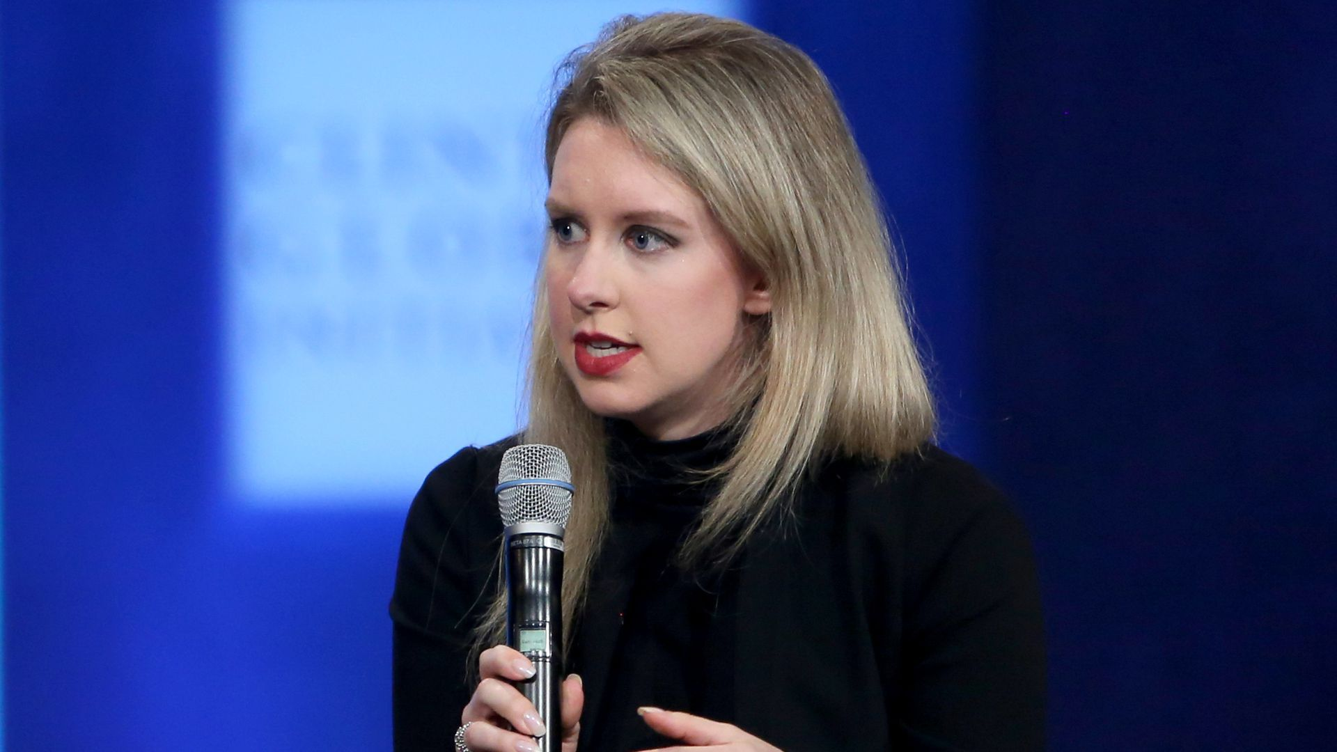 Elizabeth Holmes, founder and CEO of Theranos.