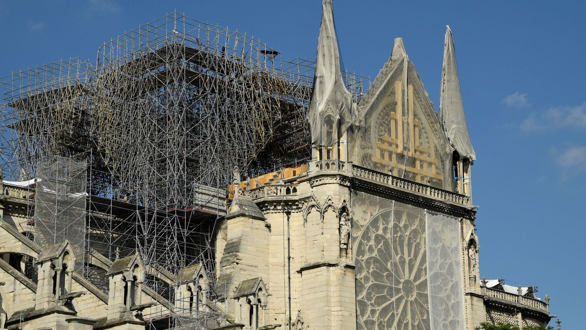 Notre Dame reconstruction