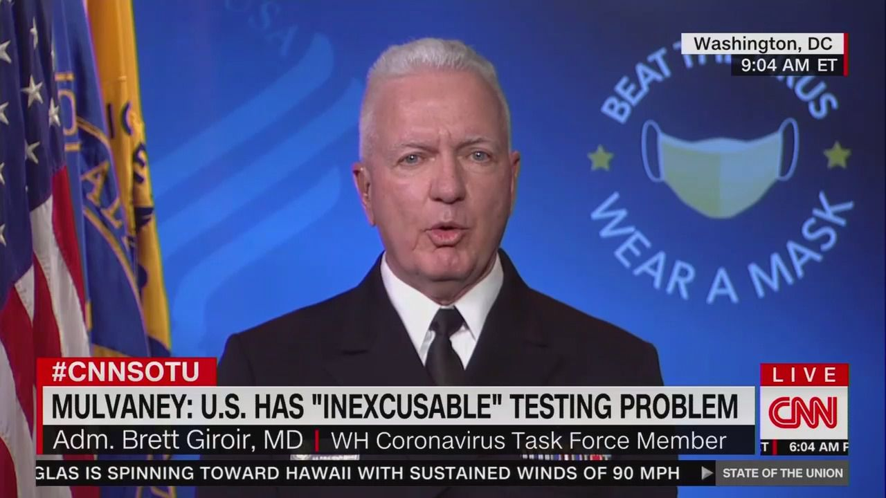 Top HHS official concedes turnaround time for coronavirus tests is still too long thumbnail