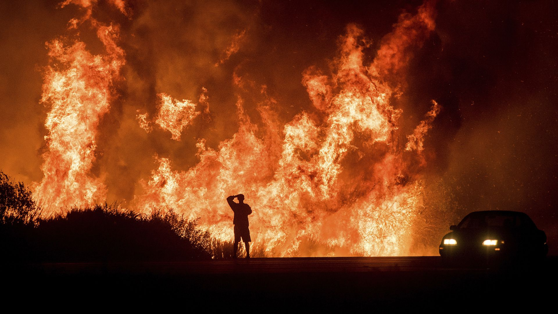 The Thomas Fire in Ventura County