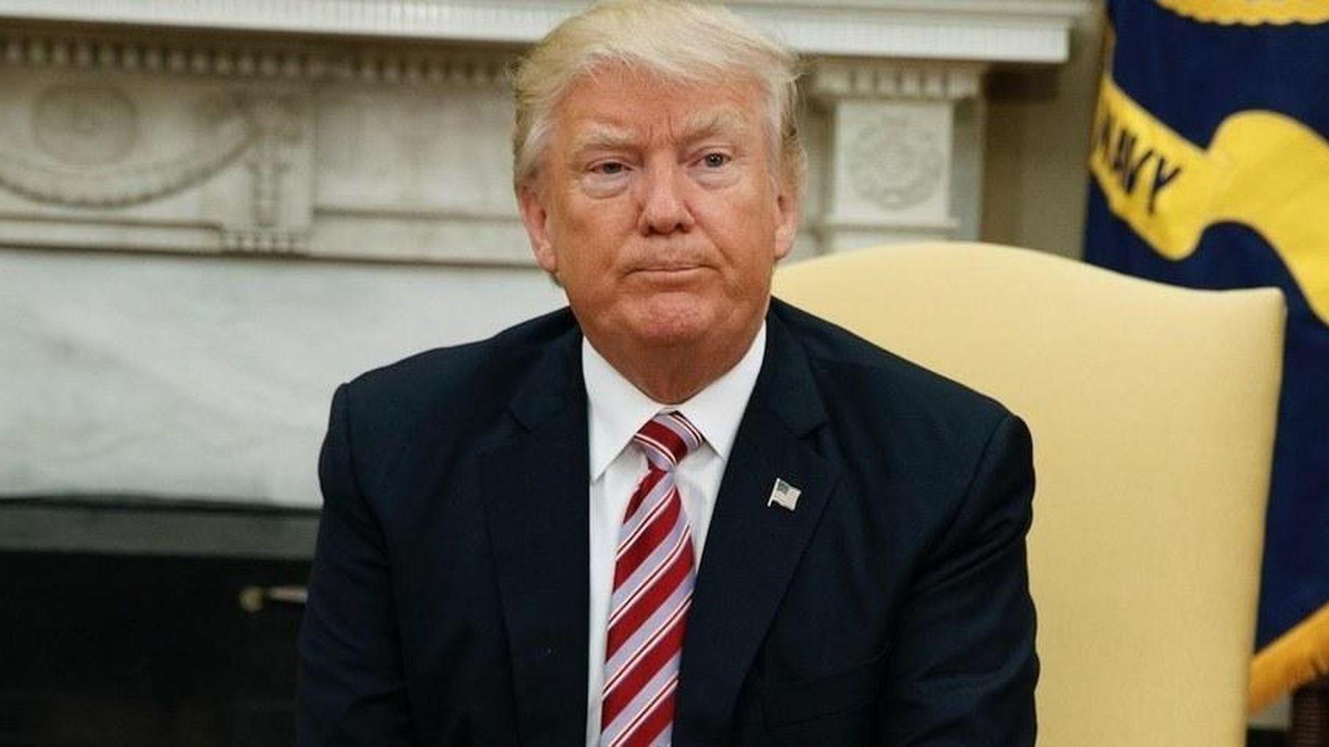 Trump puts agenda, presidency at risk
