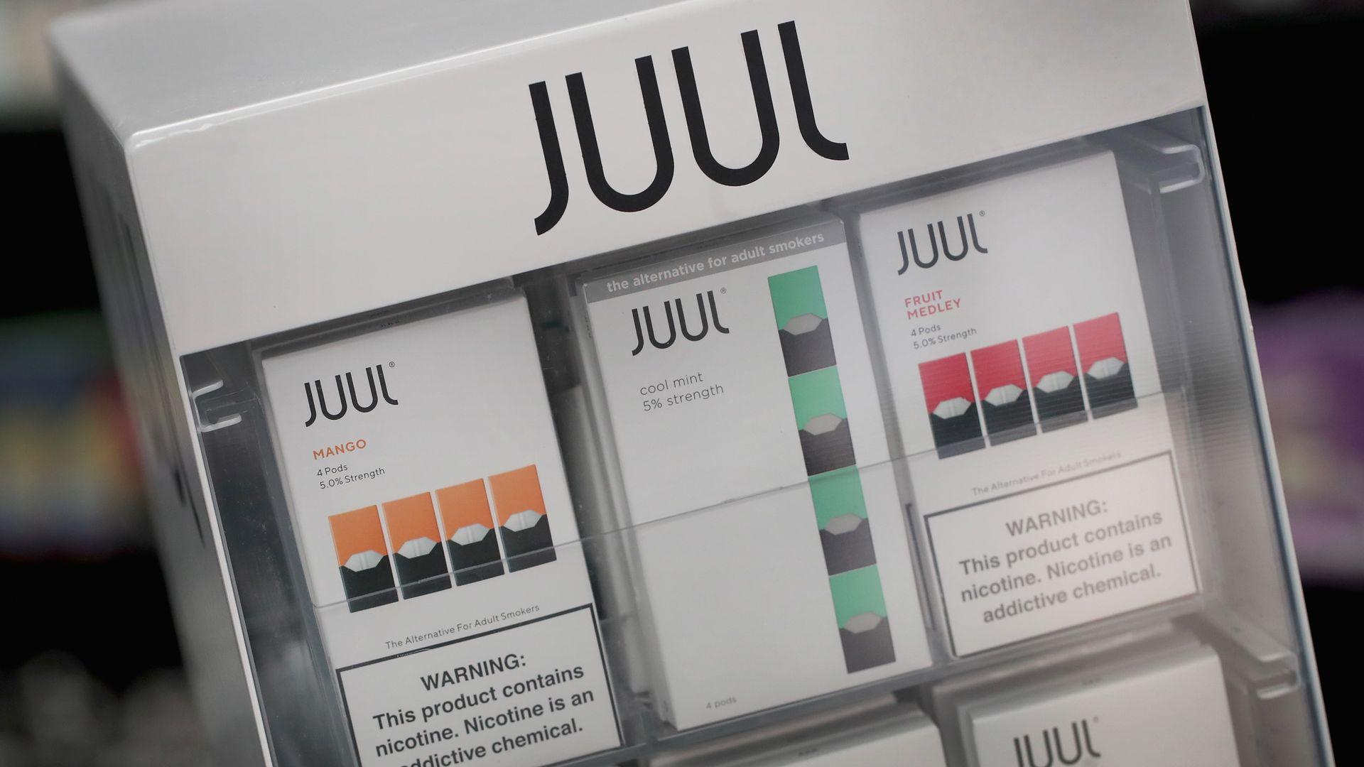 Juul files patent infringement complaint on other vape