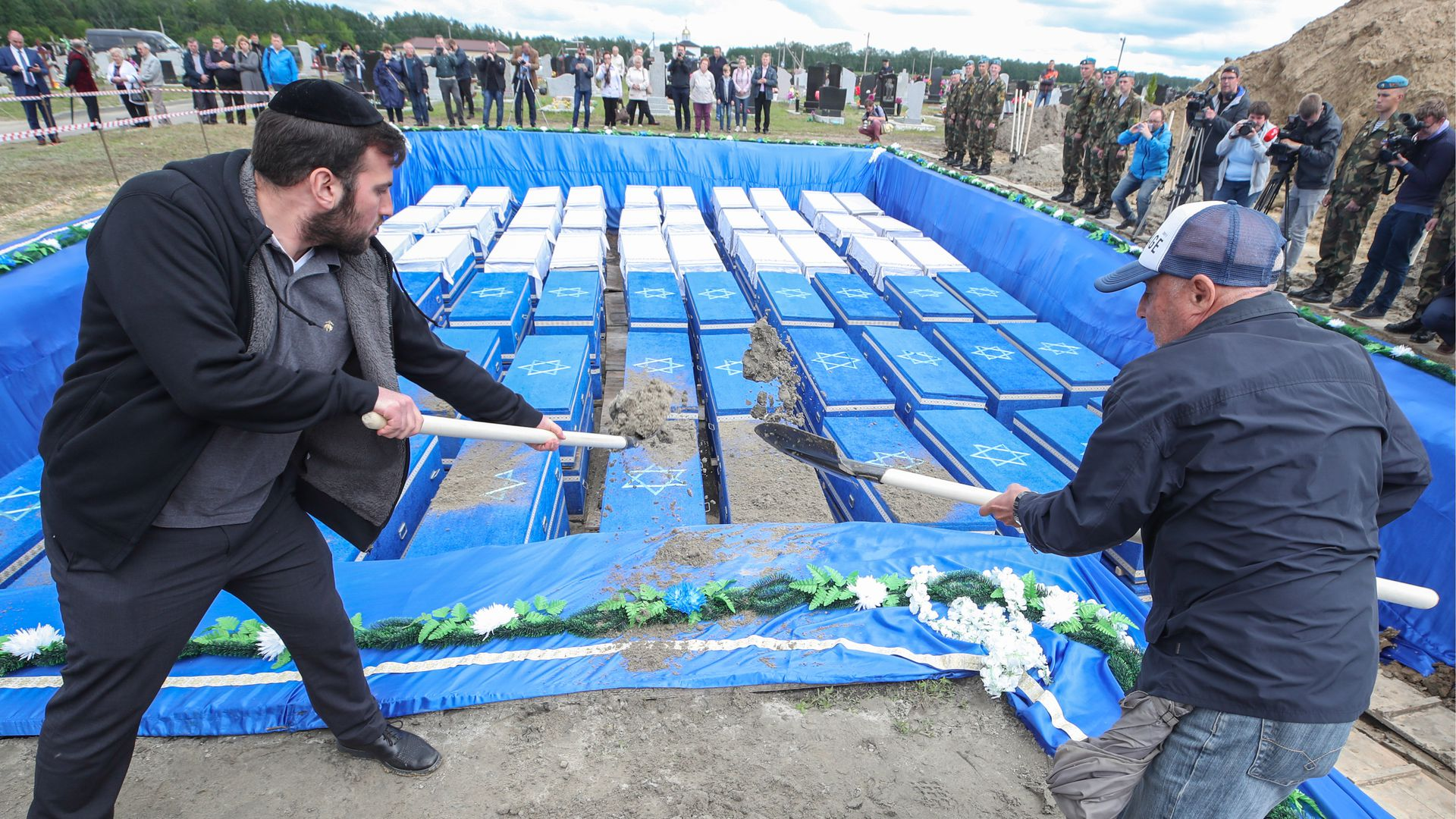 More than 1,000 Holocaust victims laid to rest in Belarus