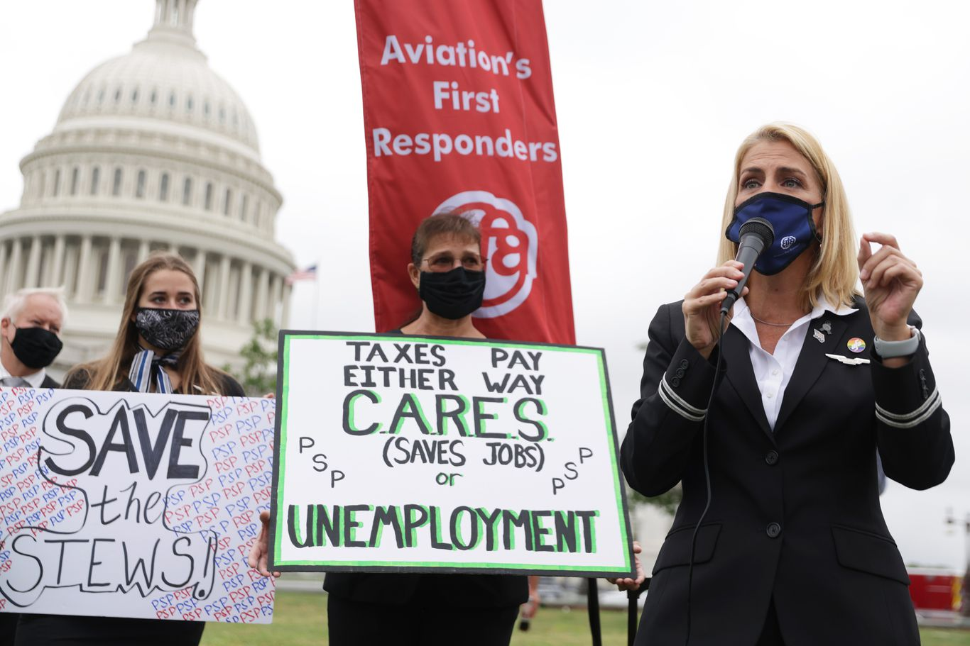 Anxious days for airline workers as mass layoffs loom