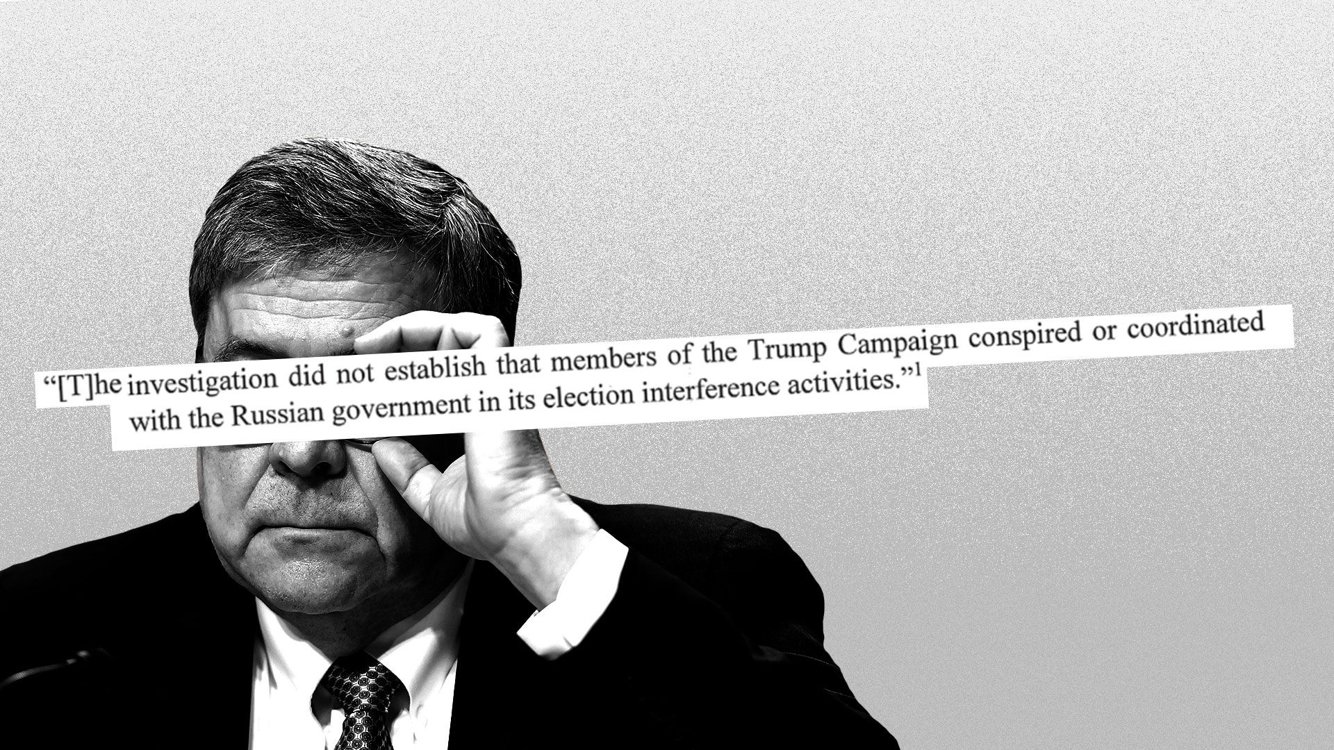 The full Mueller report context of the quotes in Bill Barr's summary