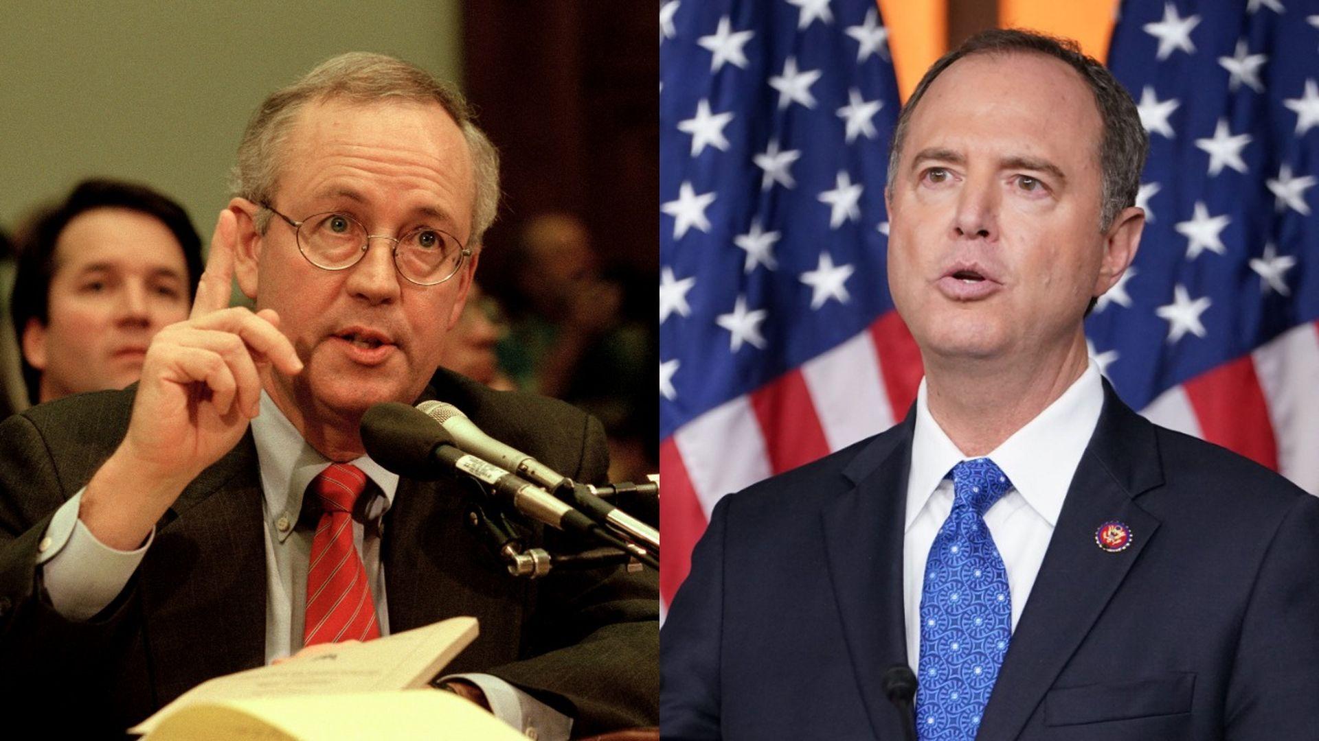 Adam Schiff is Democrats' Ken Starr in the Trump impeachment inquiry
