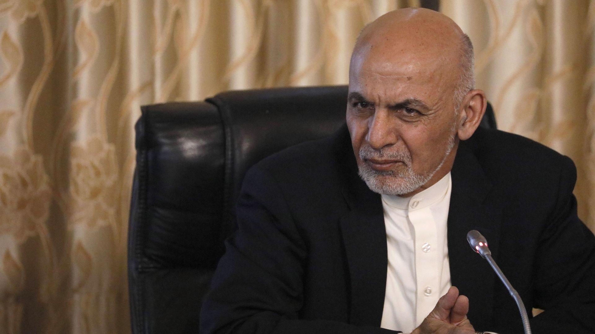 Afghanistan's President Ashraf Ghani.