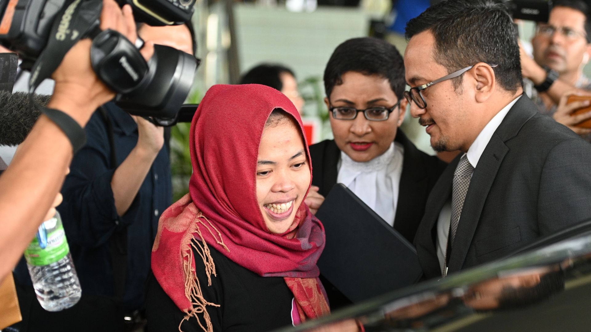 Siti Aisyah was accused of smearing nerve agent on Kim Jong-nam's face in 2017.