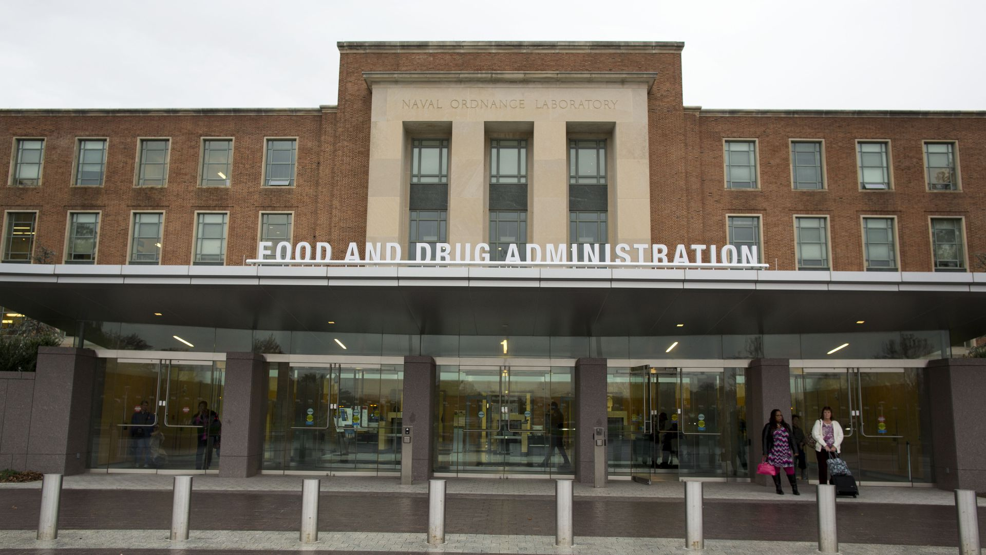 FDA headquarters building in Maryland.