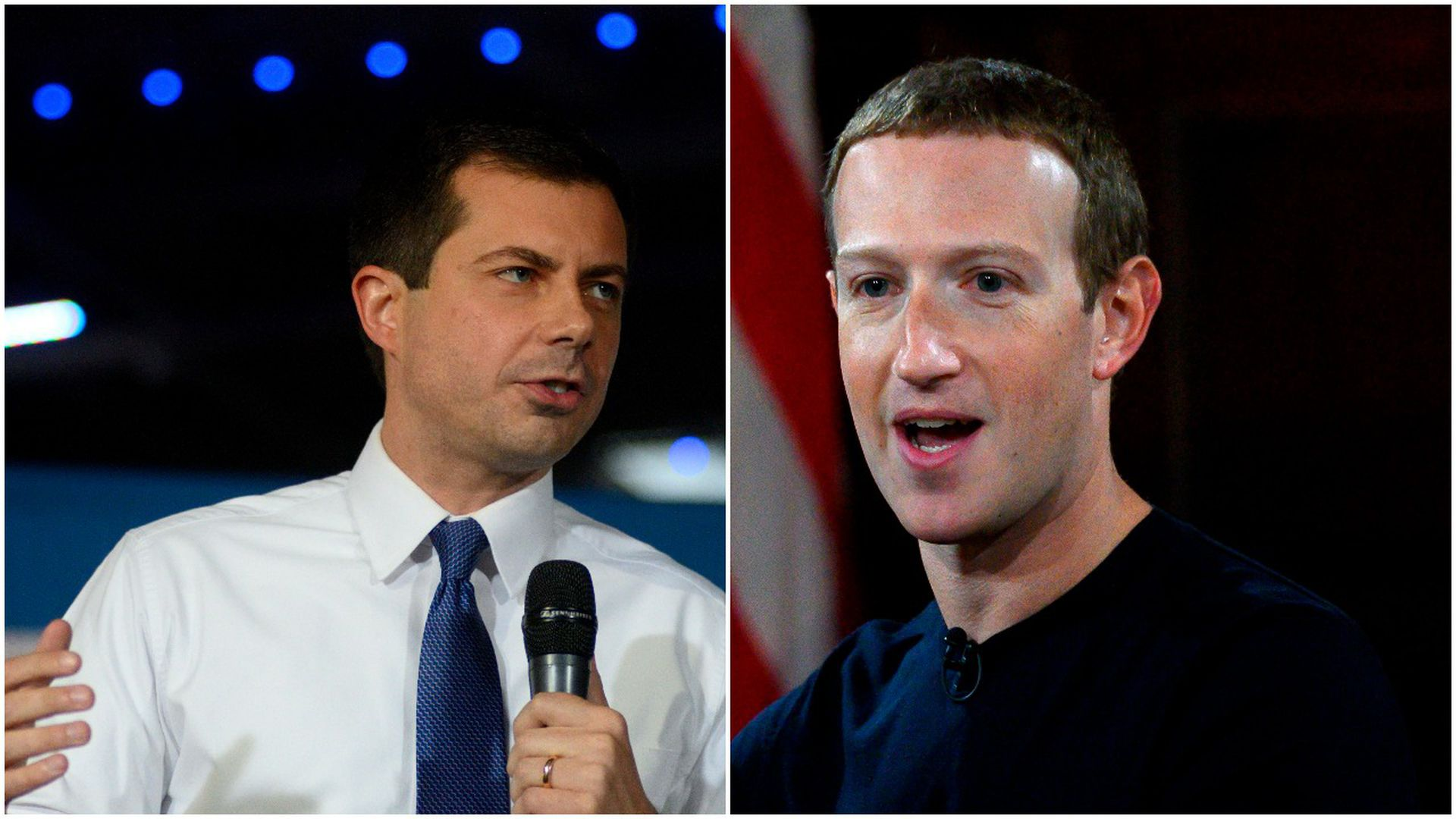 Facebook's Mark Zuckerberg sent staff recommendations to Pete Buttigieg's campaign