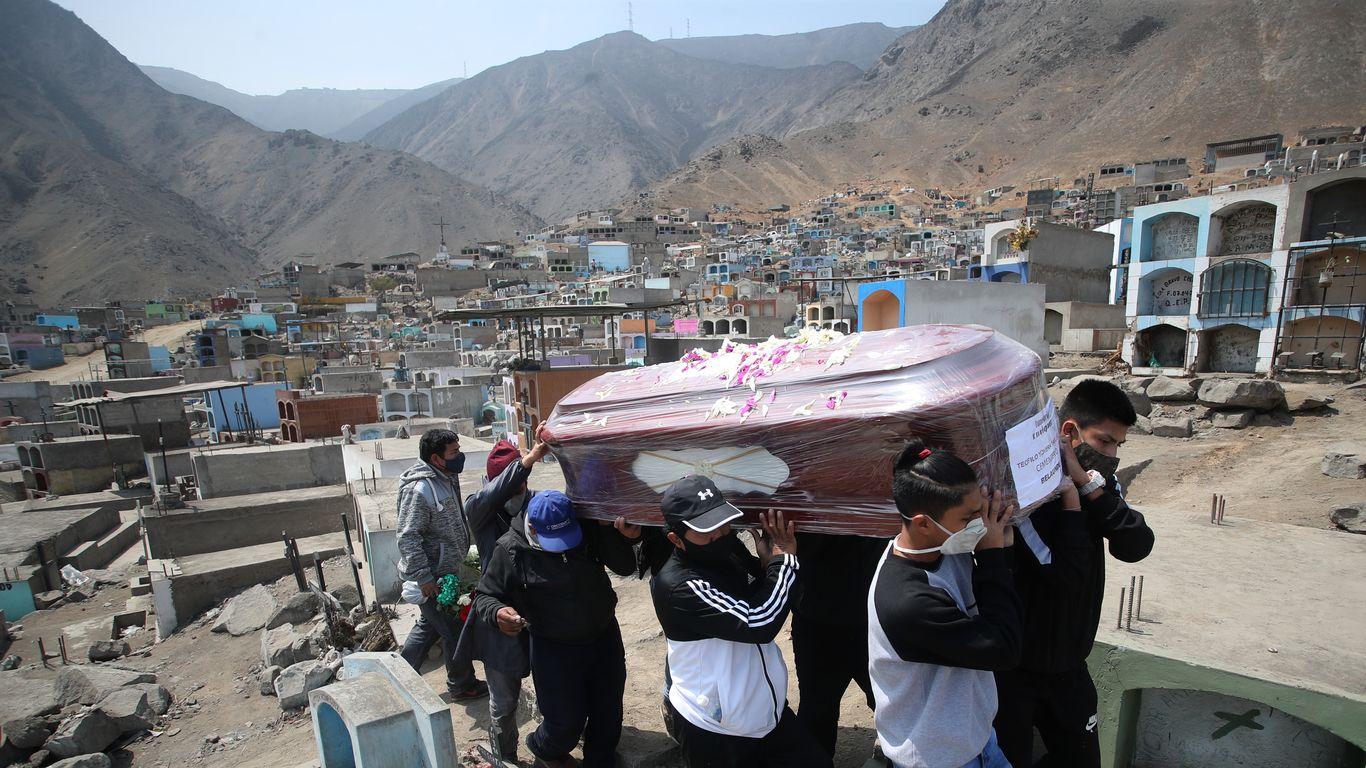 Peru surges to highest COVID death toll per capita