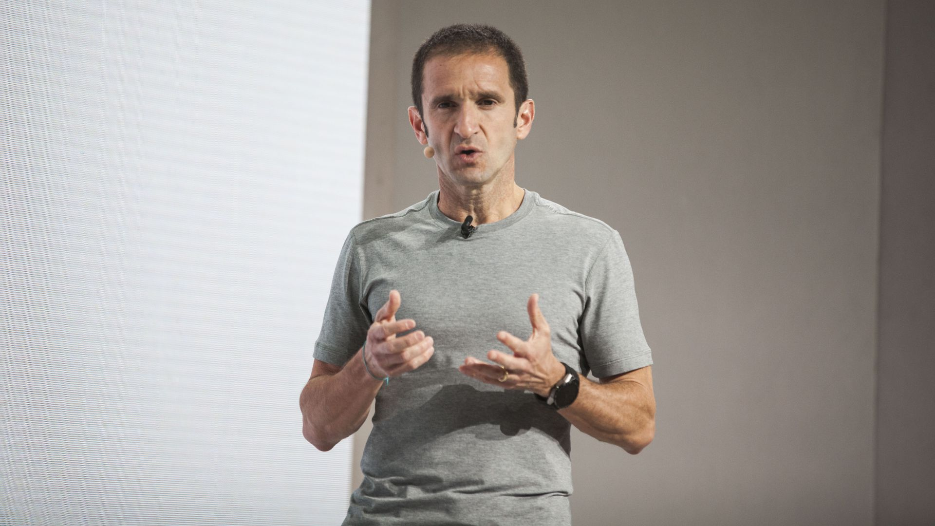 Mario Queiroz, at the 2016 launch of the Google Pixel