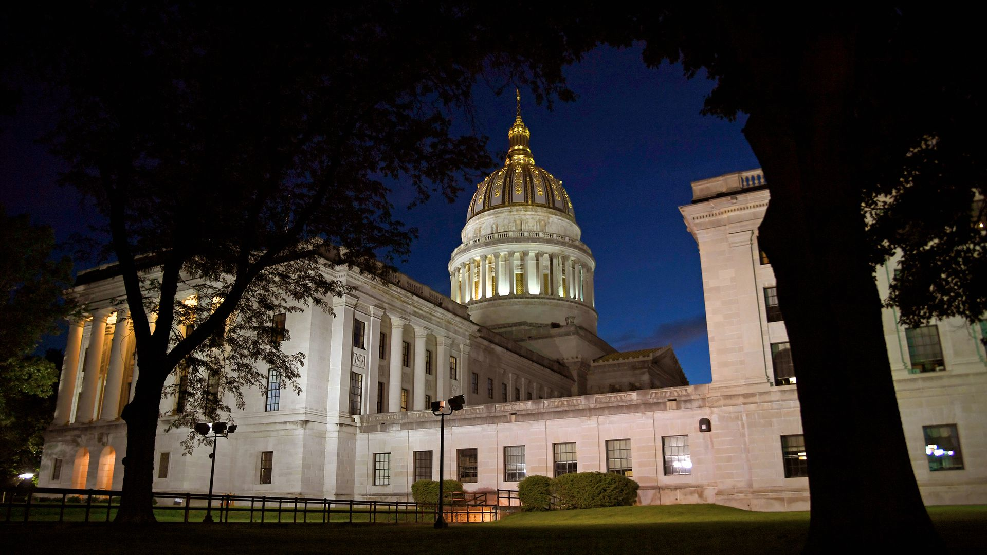 West Virginia State Capitol Building in Charleston, West Virginia