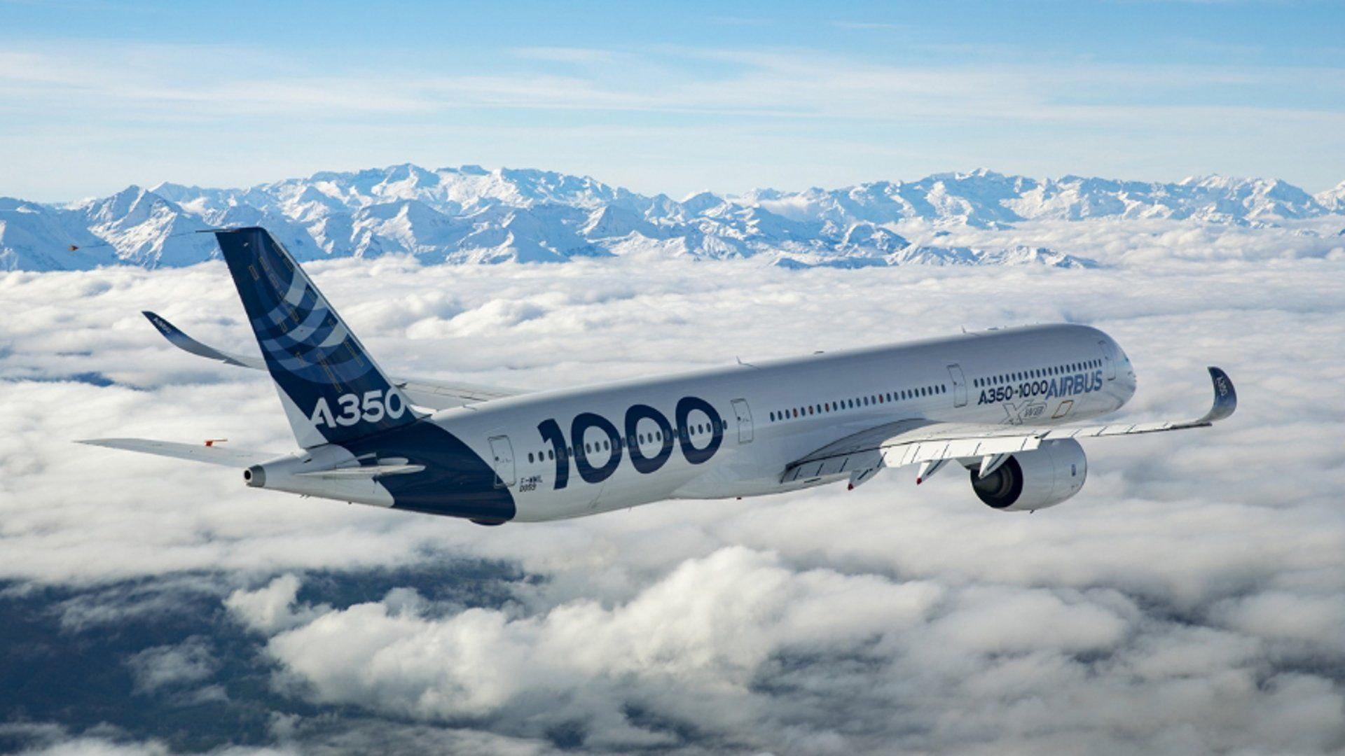 The Airbus A350-1000