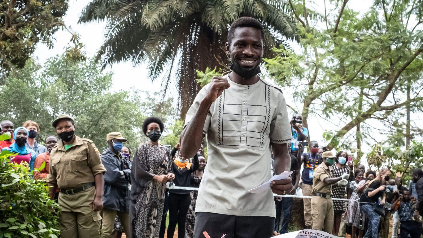 "Uganda's election: A tense wait as Bobi Wine says outlook ""looks good"" thumbnail"