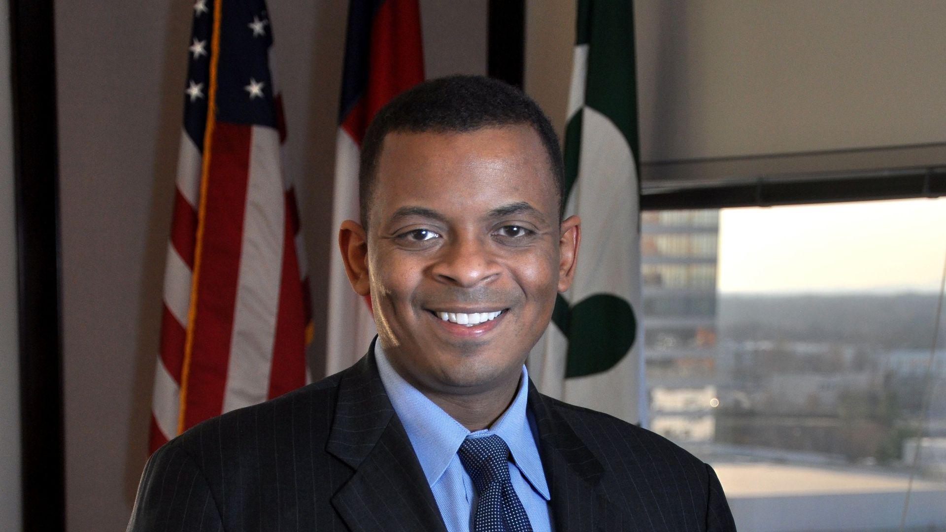 Photo of ex-Obama Transportation Secretary Anthony Foxx.