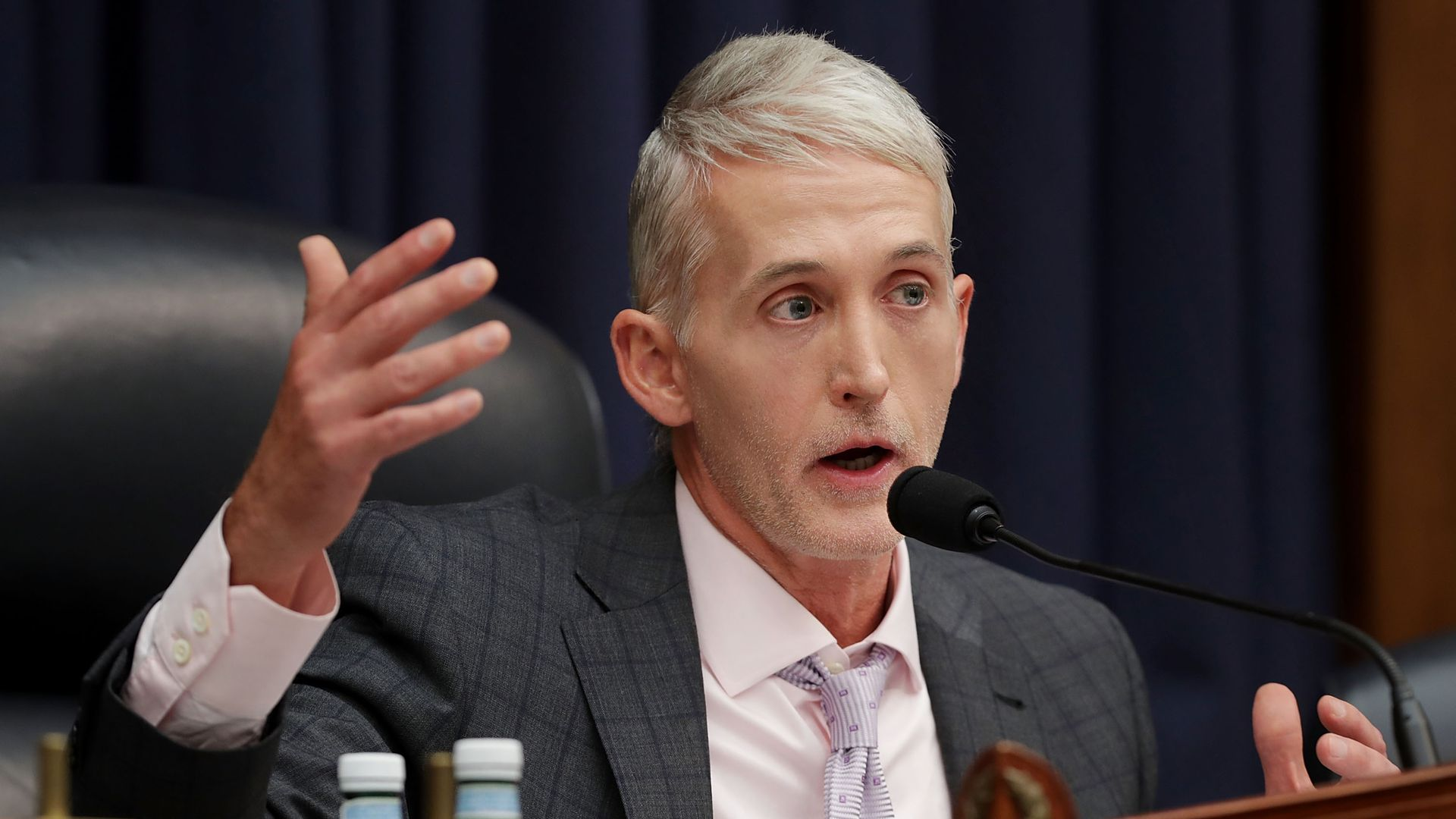 Trump says Trey Gowdy can't join legal team until January