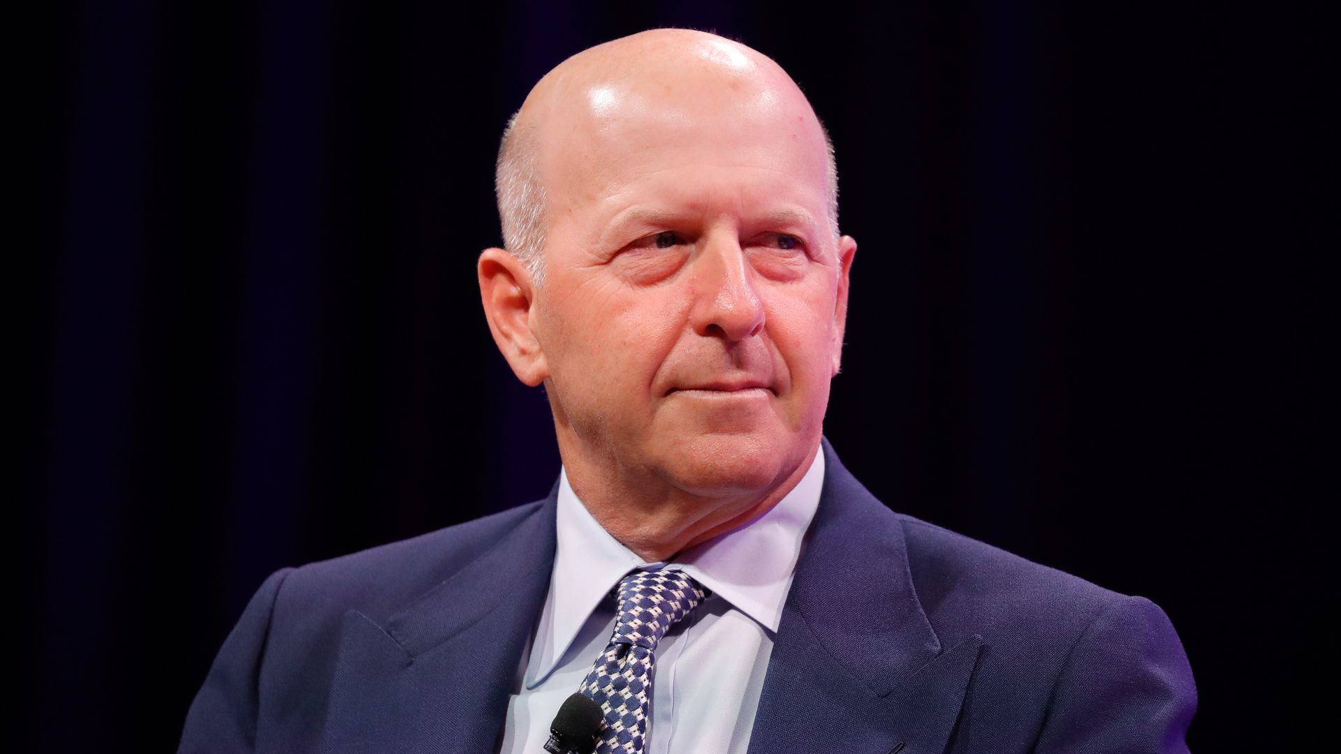Close up of David Solomon
