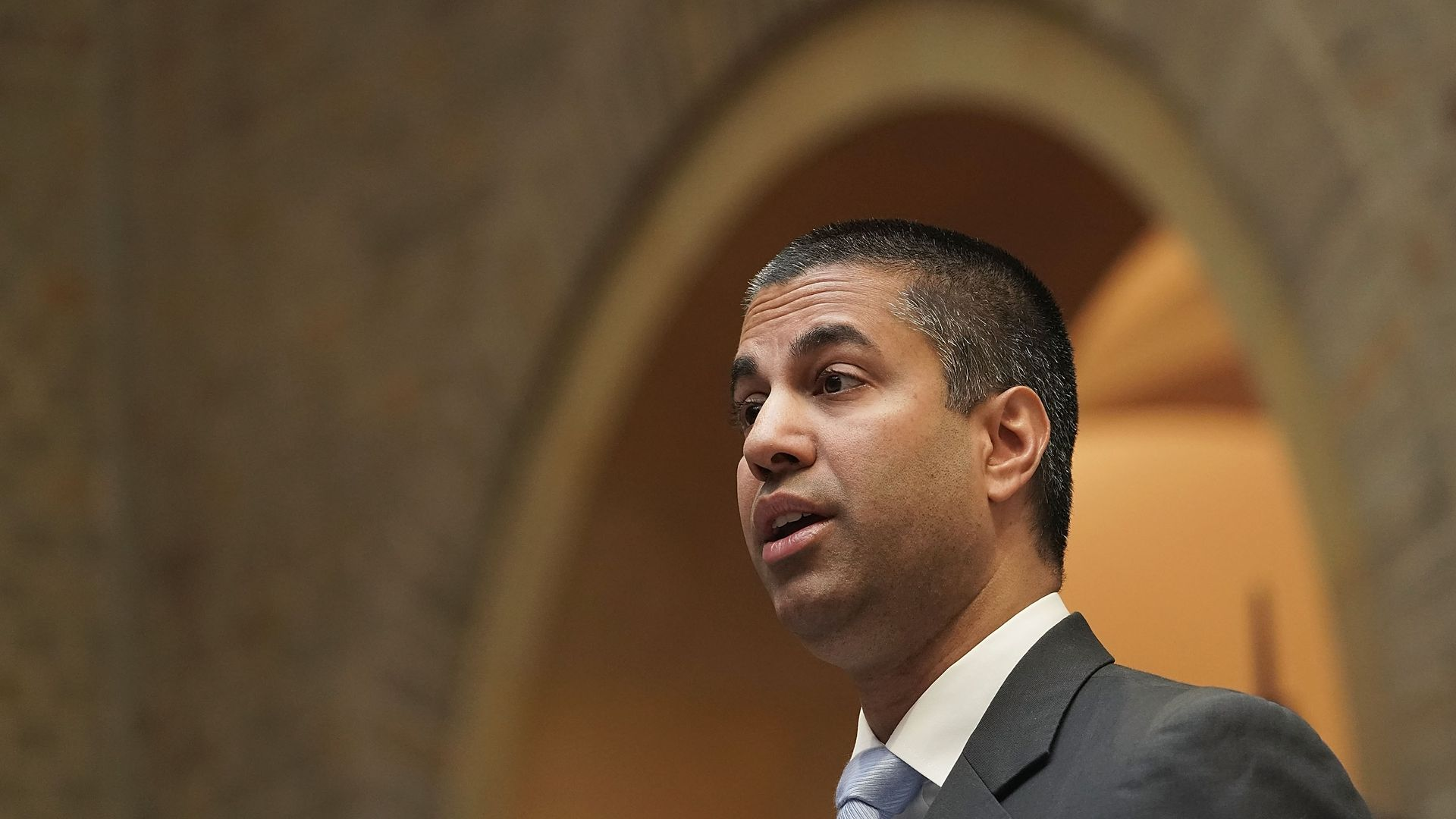 FCC Chairman Ajit Pai in profile