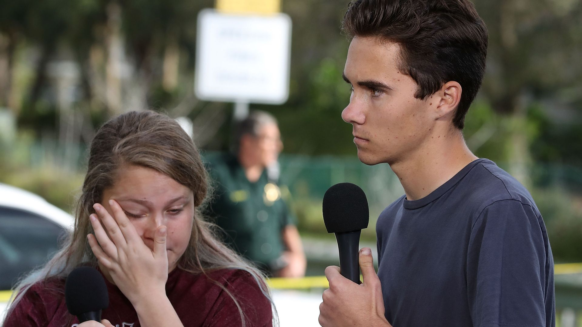students from parkland shooting