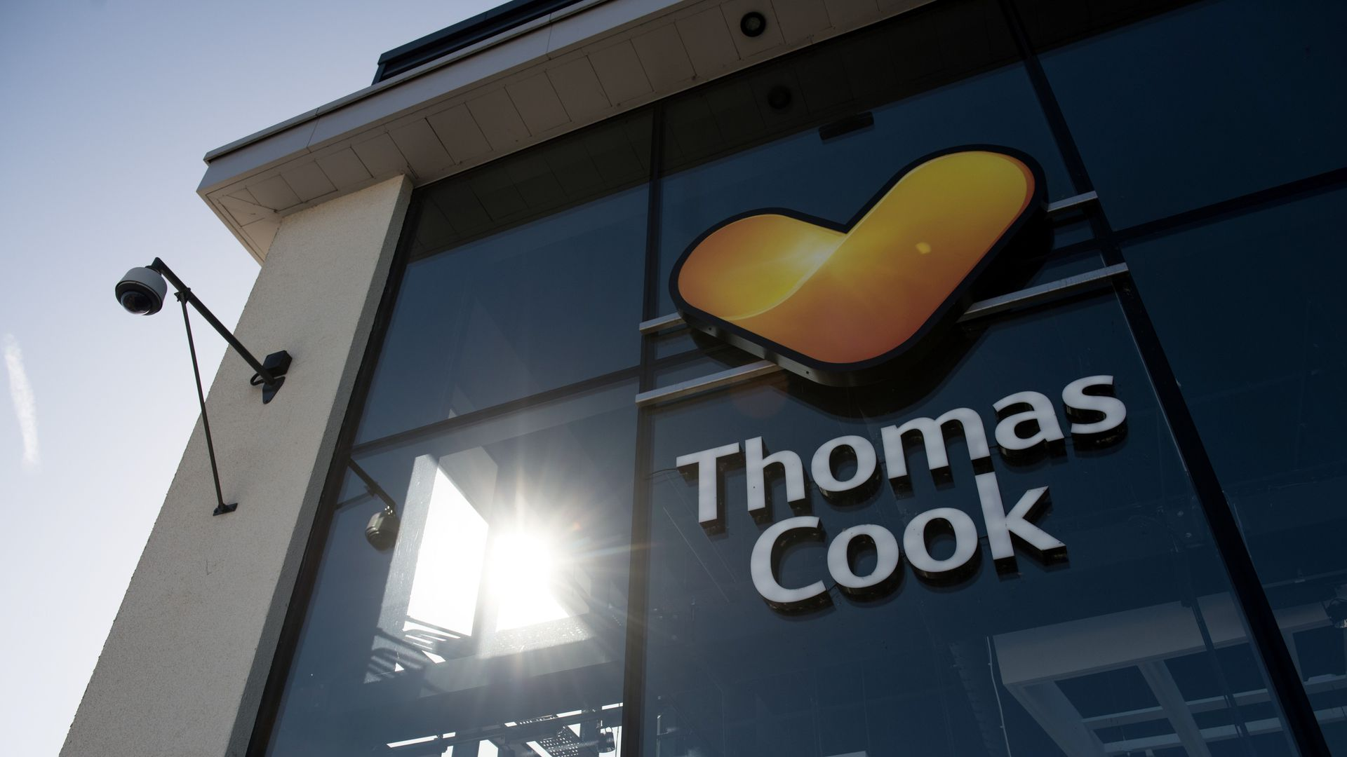 A closed Thomas Cook branch