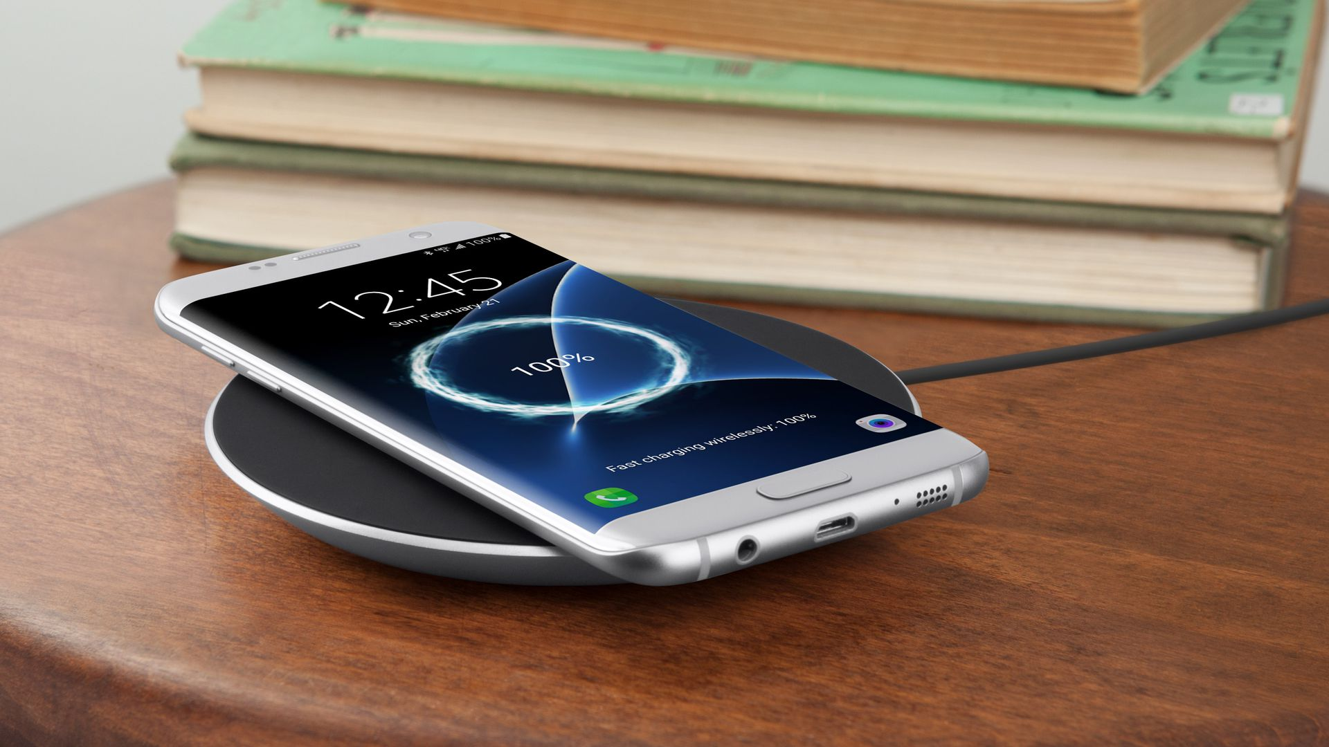 A Belkin wireless charger