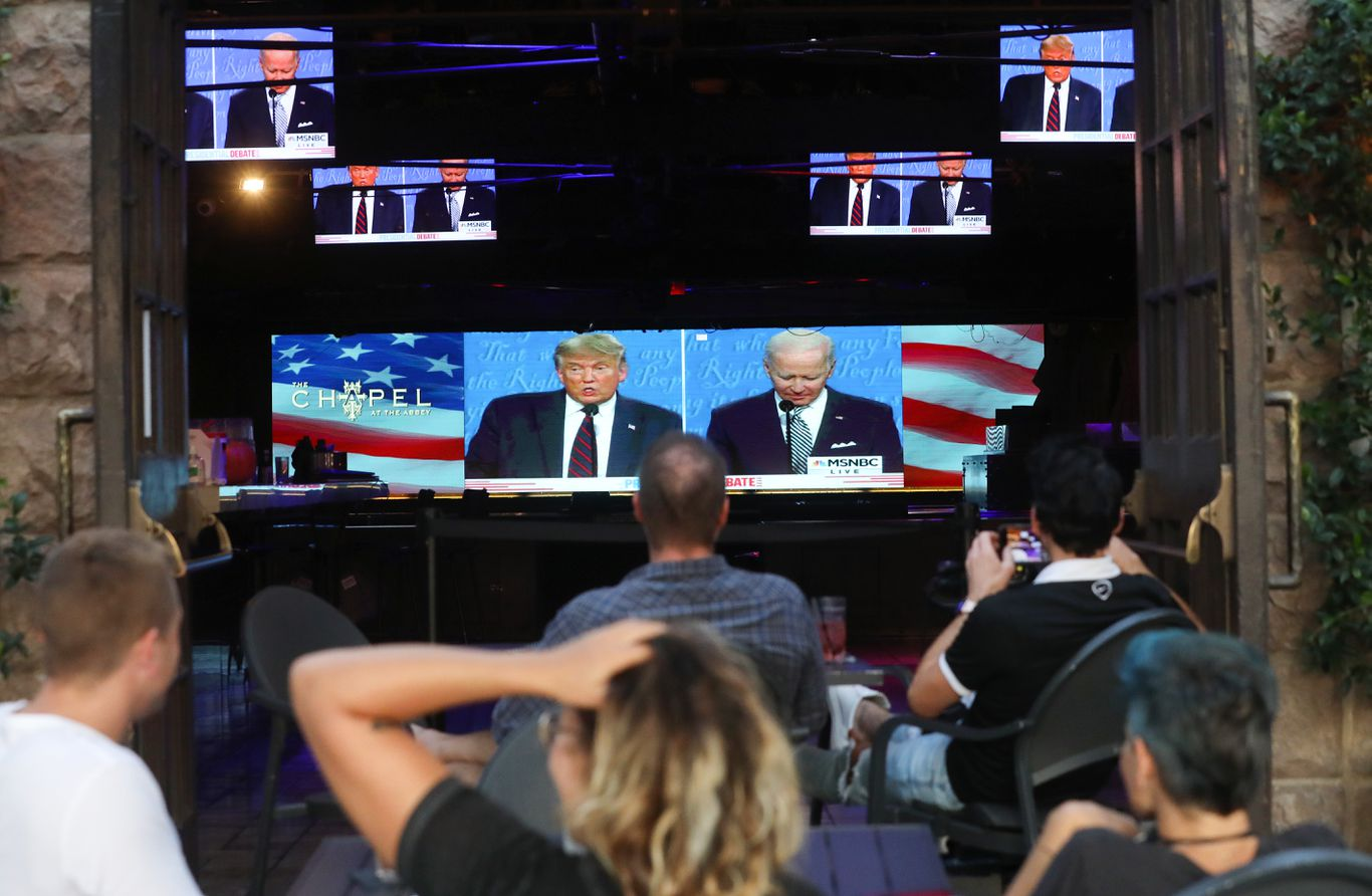 Over 73 million people watched the first debate on TV thumbnail