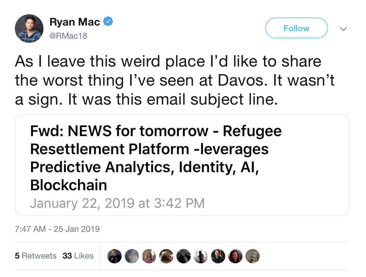 Ryan Mac twete