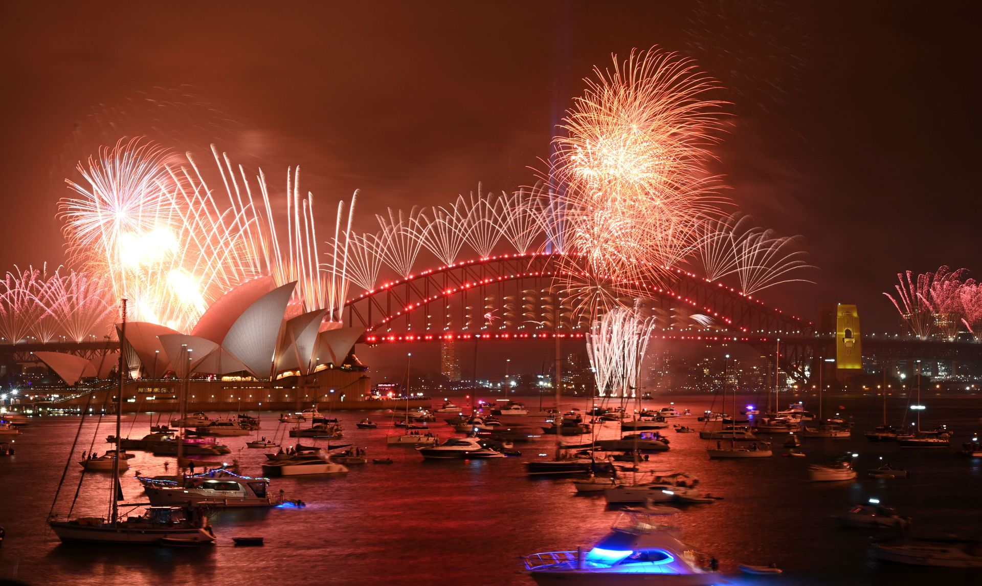 new year s eve around the world cities ring in 2020 photos axios new year s eve around the world cities