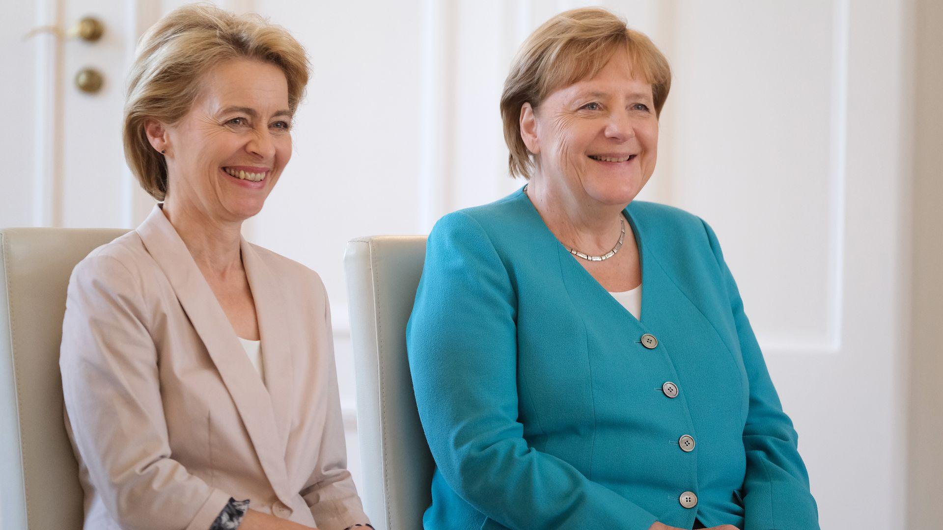 Ursula von der Leyen to take helm of a divided EU - Axios