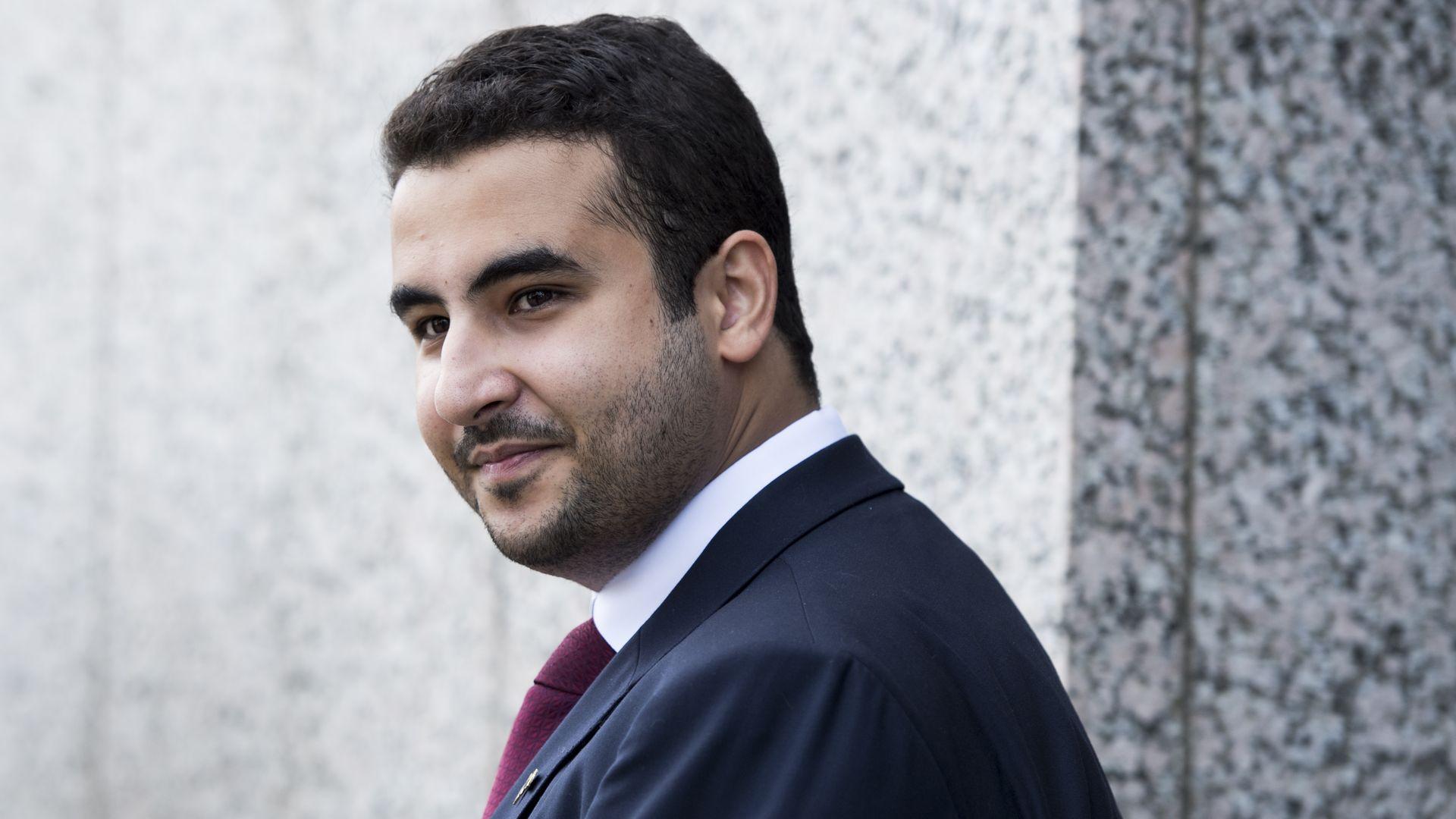 Saudi Ambassador to the U.S. Prince Khalid bin Salman bin Abdulaziz