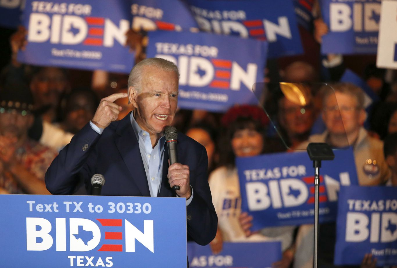 Texas Democrats beg Biden to spend now