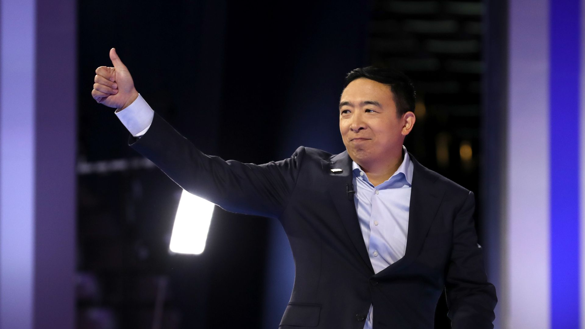 What campaign finance law says about Andrew Yang's plan to give money away