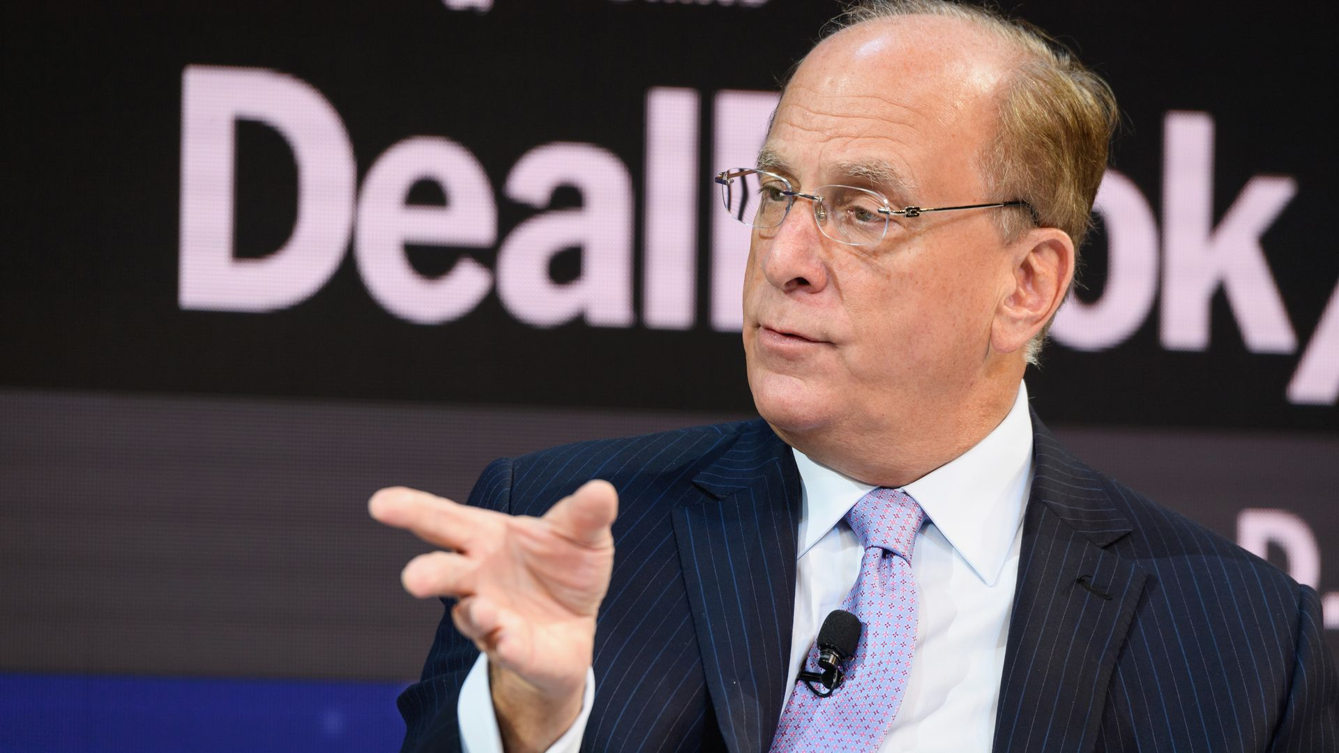 Laurence D. Fink, chairman and C.E.O.