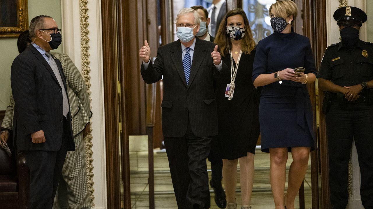 McConnell: Confirming Amy Coney Barrett will help GOP retain Senate