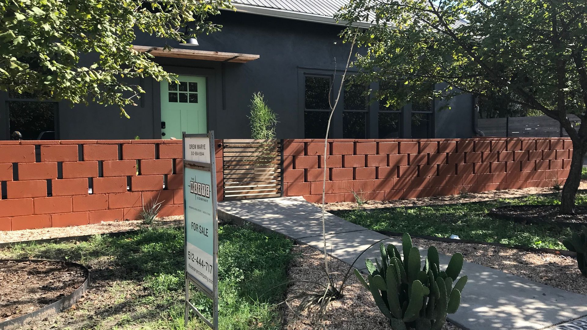 A house for sale in South Austin.